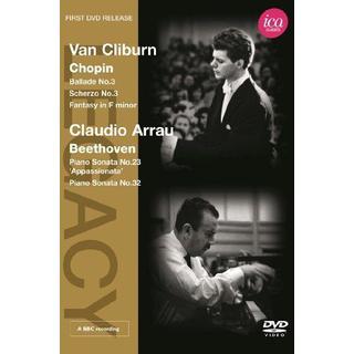 Van Cliburn/ Claudio Arrau (Ballade/ Scherzo/ Sonatas) (ICA Classics: ICAD 5073) [DVD]